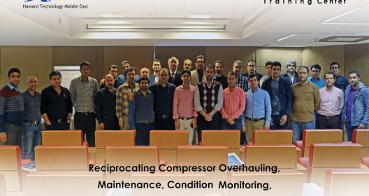 Repair and maintenance training and overhaul of reciprocating compressors